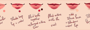 Lip Progress by agent-lapin