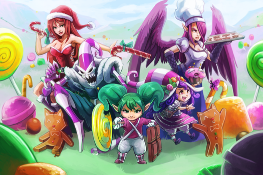 Sugar Rush! League of Legends~ by RinTheYordle