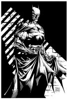 Batman by David Finch - Inks by adr-ben
