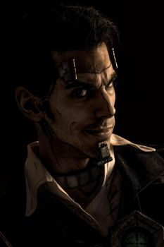 Handsome Jack is... scary. by DosikLens