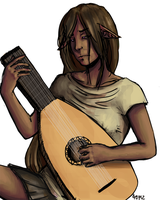 Commission: Lute by greensubmarine