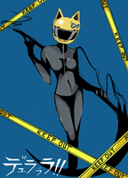 Celty --rakugaki 'Updated' by Reicandy
