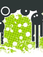 240x320 green thing.. by InfinityDesigns