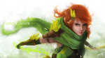 Dota 2 - Windrunner by 00-empty-00