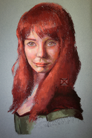 Study of 'Redhead' by tousser