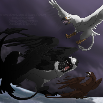 [Gryph Entry]::  Hollowed Souls by Beauty-of-Drawing
