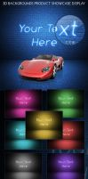 3D Backgrounds Product Showcas by bhertzel