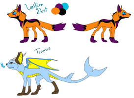 Lantern Dust and Terance Mass ref by West-Kitsune