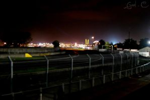 Le mans by night by bettersweet-art