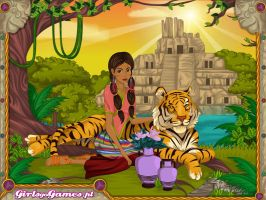 Itzel The Mayan Princess by AnneMarie1986