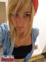 Winry Attempt by Fadedhowl