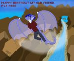 Birthday gift for Snowfyre 2016 by Dragon-Furry