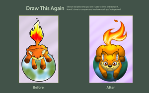 Draw This Again Contest by Peeka13