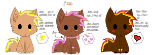 Lil' Wolf Adoptable Pack by Newgrounds-People