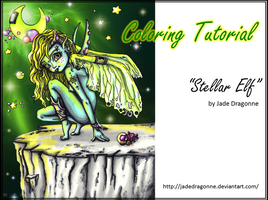 ELF - Marker Coloring tutorial by JadeDragonne
