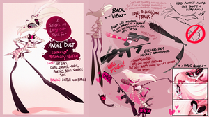 Angel Dust- OMG REF by VivzMind