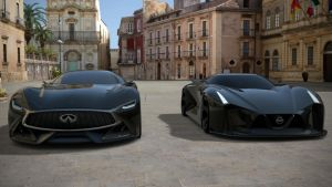 Infiniti Concept and Nissan Concept by NightmareRacer85