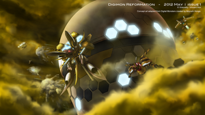 Digimon Reformation - 2012 May Issue 1 by Vinsuality