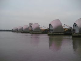 Thames Barrier by weelise