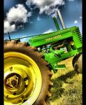 Big Green Tractor by morbidangel5857