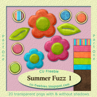 CU Freebie- Summer Fuzz part 1 by Kathery