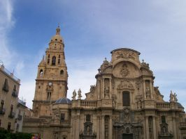 Murcia cathedral by JuryJekyll