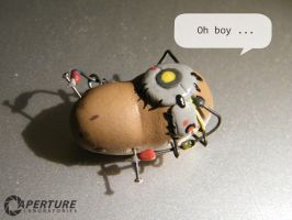 Portal 2  - Spoiler - Potato by Mietschie