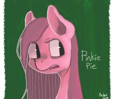Pink Horse by BerryDrops