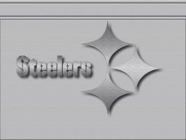PITTSBURGH STEELER BRUSHED by graffitimaster