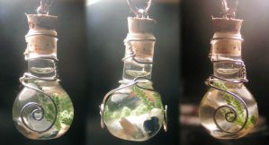 Magic Vial - Ocean Waves 2 by Izile