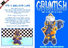 cover for chapter 1: gruntish by celeste84