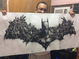 Re-Creation of Batman Arkham Origins by emilcabaltierra