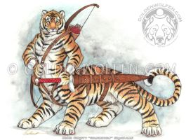 Tigertaur by Goldenwolf