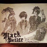 Black Butler Request by danventuretime