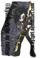 .:Chibi Jake Pitts:. by KymmieCup