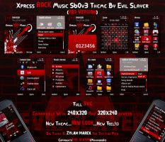 Xpress Rock Music Red by Evil-Slayer