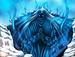 Madara's Perfect Susanoo Blue by ShenLongKazama