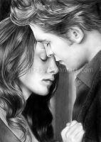 Edward and Bella by yamiN713