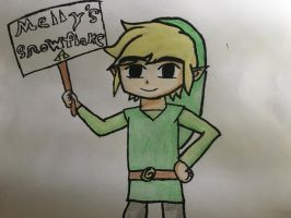 Toon Link  by ColeandLarry56