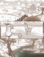 Driftwood Hollow: Of Mirrors and Leaves .. pg1 by Riftmaw