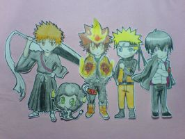 Crossover Cut-outs by xxDevilsAngel28xx