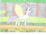 Art Trade: Mandy's Dark Forest Meeting by MyMelodyOfTheHeart