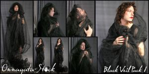 Black Veil Pack 1 by Onnagata-stock