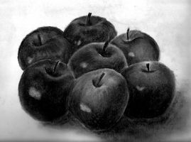 charcoal_drawing_____apples___by_leadjayaputra-d346hj5.jpg (269×200)