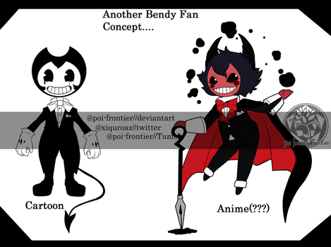 (FA) Bendy - Anime style pt 1 by PoI-Frontier