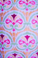 Easter Colors Fabric Print by paintresseye