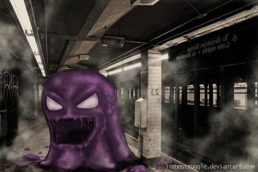 Subway monster by jimbostruggle