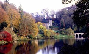 Stourhead Gardens Autumn by Pickles14