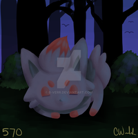 Day 2 - Zorua by B-VERR