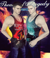 DANTE y VERGIL ::EPICA y SIRENIA:: by MartinRedfield